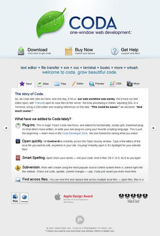 Тема для Wordpress Coda
