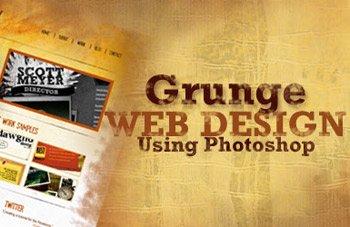 Гранж-стиль в веб-дизайне