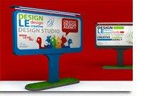 Элементы дизайна, похожие на рекламу